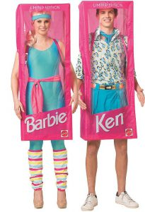 Image: Couple Costume Barbie And Ken