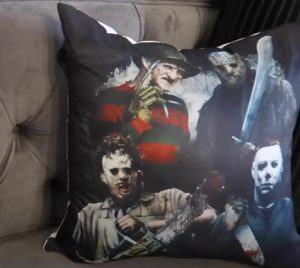 Image: Scary Halloween Character Pillow