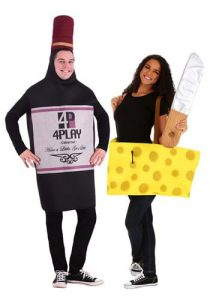 Image: Wine And Cheese Couple Costume